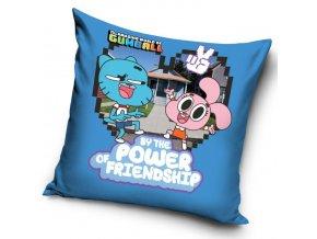 Povlak na polštářek Gumballův svět - Friendship
