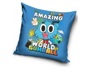 Povlak na polštářek Gumballův svět - Modrý