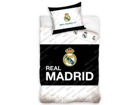 Fotbalove povleceni Real madrid Black Belt 4005