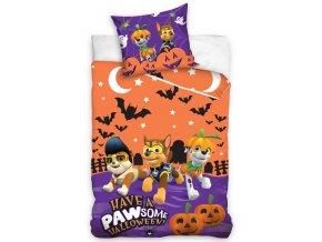 Detske povleceni Tlapkova Patrola Halloween