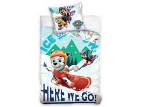 Detske povleceni Tlapkova Patrola Snowboardaci
