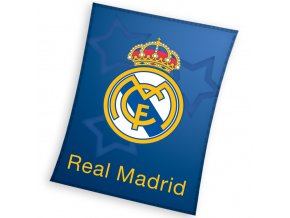 detska deka real madrid blue stars 110x140