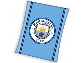 fotbalova deka manchester city 110x140