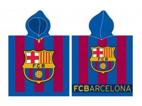 Detske ponco FC Barcelona 8001