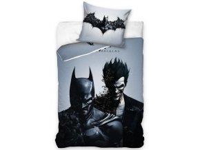 Bavlnene povleceni Batman a Joker