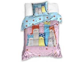 Bavlnene povleceni Kocky Sweet Dreams CAT 17 1001 top