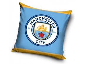 Fotbalovy polstarek Manchester City Logo 16 1003