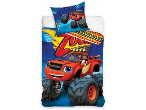 Detske povleceni Blaze Monster Truck Blue