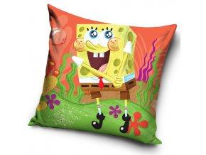 Detsky polstarek Sponge Bob Oranzovy 16 3017