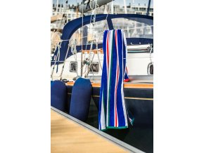Plazova osuska Jet Set Stripes Modra