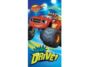 Detska osuska Blaze Monster Truck Drive