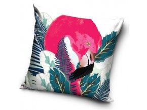 Dekoracni polstarek Flamingo