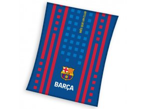 Fotbalova deka FC Barcelona Camino 110x140