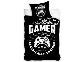 Bavlnene povleceni Gamer Black