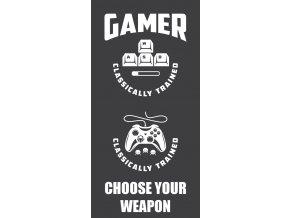 Frote osuska Gamer Black