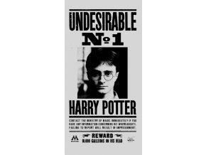 Detska osuska Harry Potter Nezadouci 70x140 cm