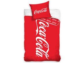 Bavlene povleceni Coca Cola Clasic Logo