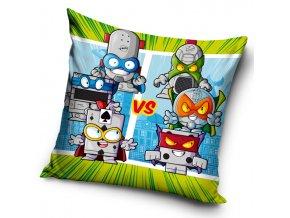 Detska polstarek SuperZings Silver Robots