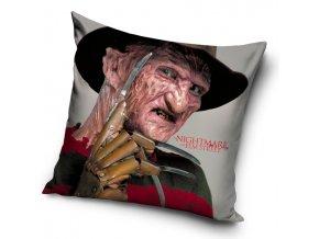 Dekoracni polstarek Nocni Mura v Elm Street Freddy Krueger