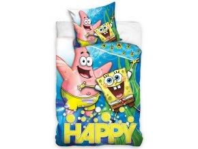 Detske povleceni Sponge Bob Happy