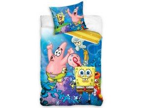 Detske povleceni Sponge Bob High Five 140x200 + 70x90 cm