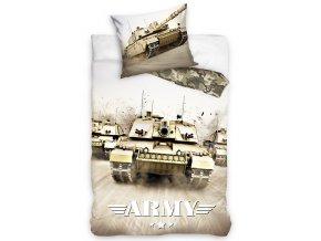 Bavlnene povleceni Tank Army140x200 + 70x90 cm