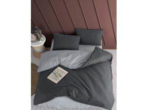 Bavlnene povleceni Color Sedo Antarcitove BedTex