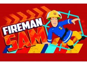 Detsky rucnicek Pozarnik Sam Vzdy pripraven 40x60 Fireman Sam 046