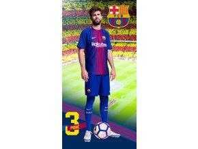 Fotbalova osuska FC Barcelona Pique 2018