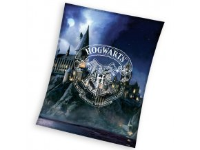 Detska deka Harry Potter Bradavicka Skola 150x200