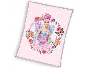 Detska deka Barbie Motyli Vila