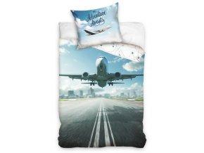 Bavlnene povleceni Dopravni Letadlo