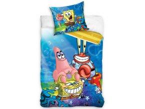Detske povleceni Sponge Bob Patrick a pan Krabs