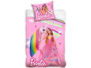 Detske povleceni Barbie a Duhovy Jednorozec