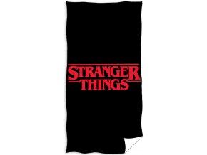 Frote osuska Stranger Things Black