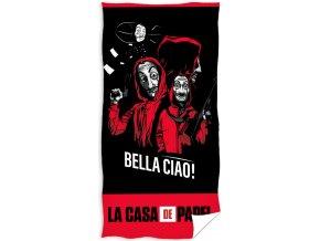 Frote osuska Papirovy dum Bella Ciao!