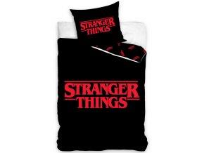 Detske povleceni Stranger Things Black