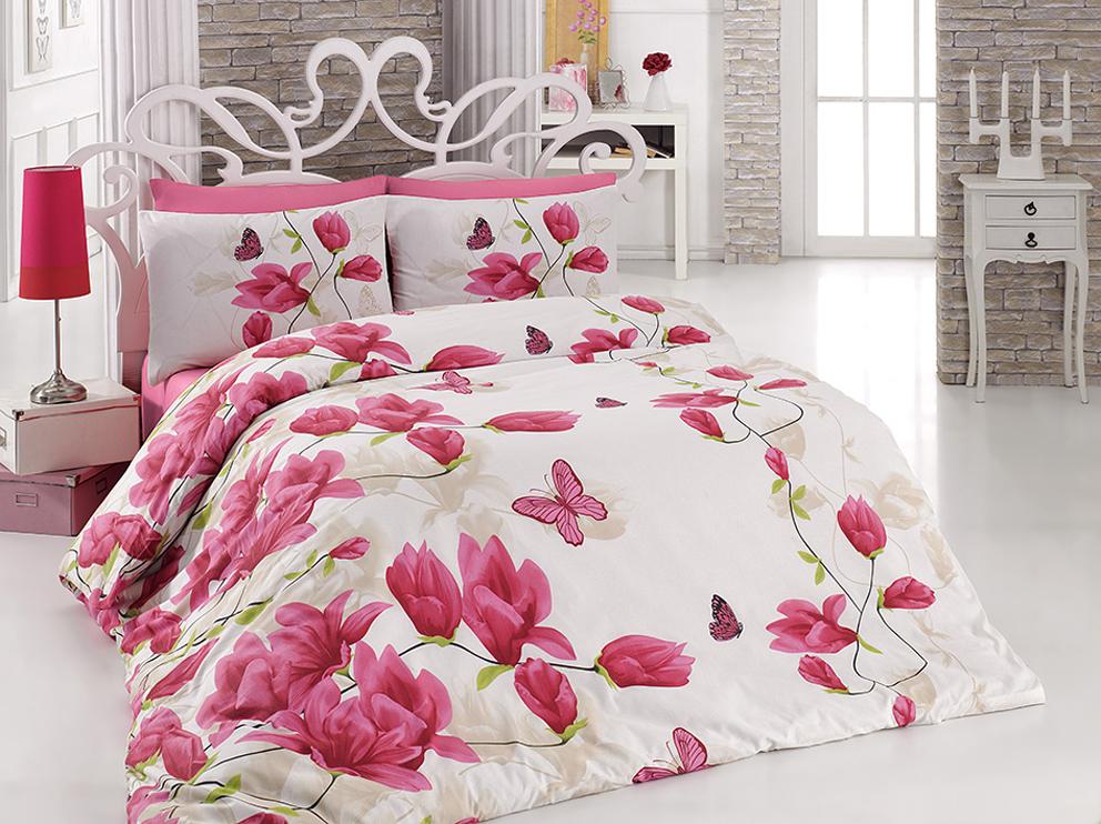 TipTrade s.r.o. Bavlněné povlečení Alize Pink Velikost: 140x200 + 70x90 + 50x70 cm