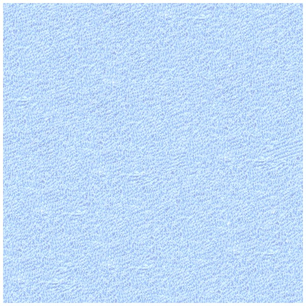 Froté prostěradlo Světle Modré Rozměr: 90x200 cm