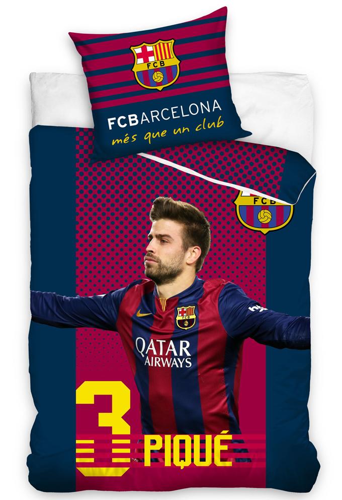 Carbotex Fotbalové povlečení FC Barcelona Pique