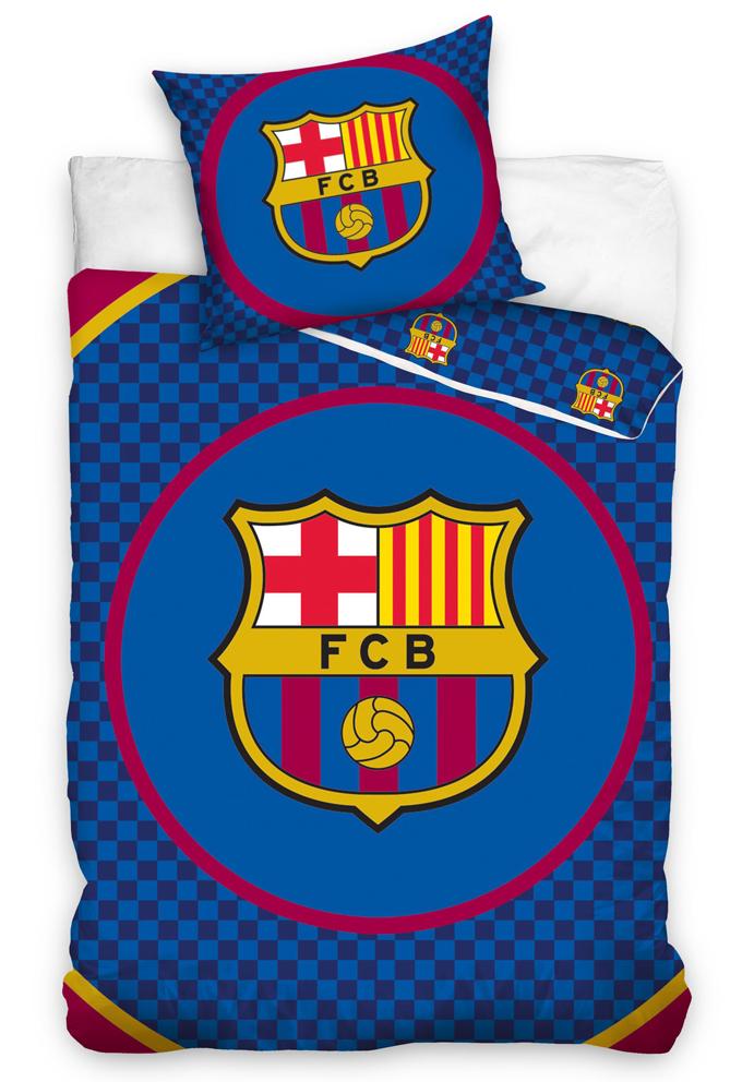 Carbotex Fotbalové povlečení FC Barcelona Circle