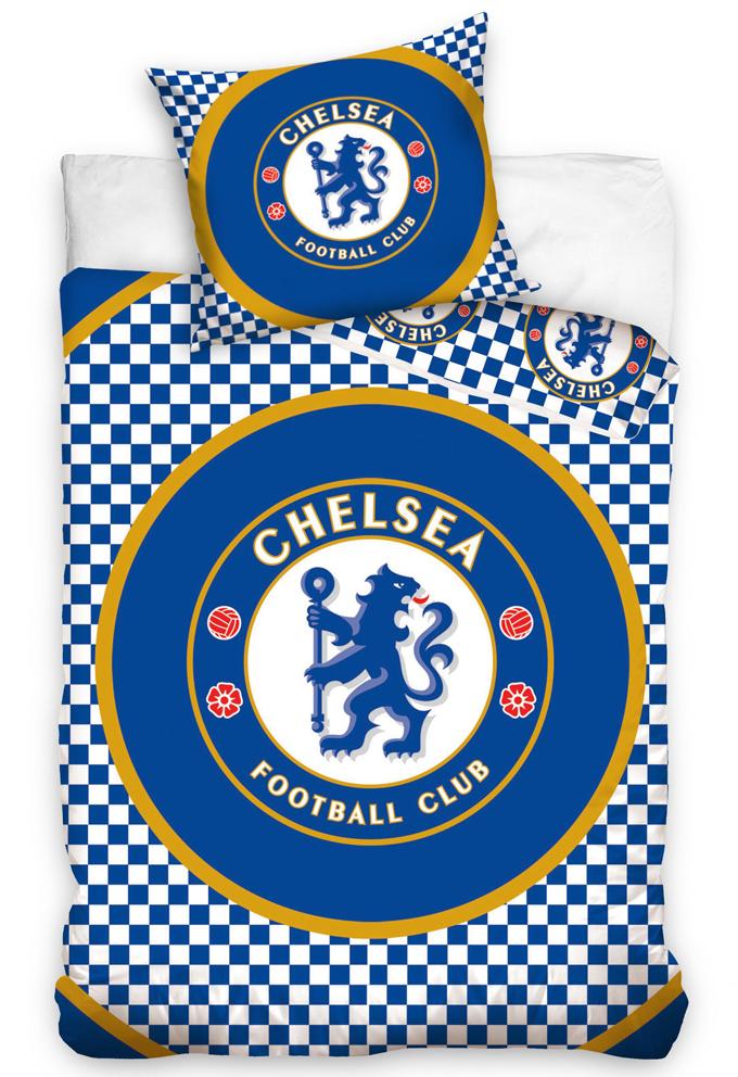 Carbotex Fotbalové povlečení Chelsea FC Circle