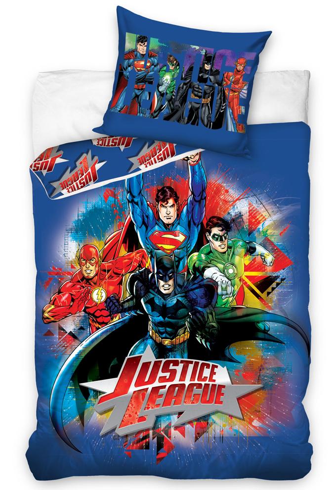 Carbotex Dětské povlečení Justice League