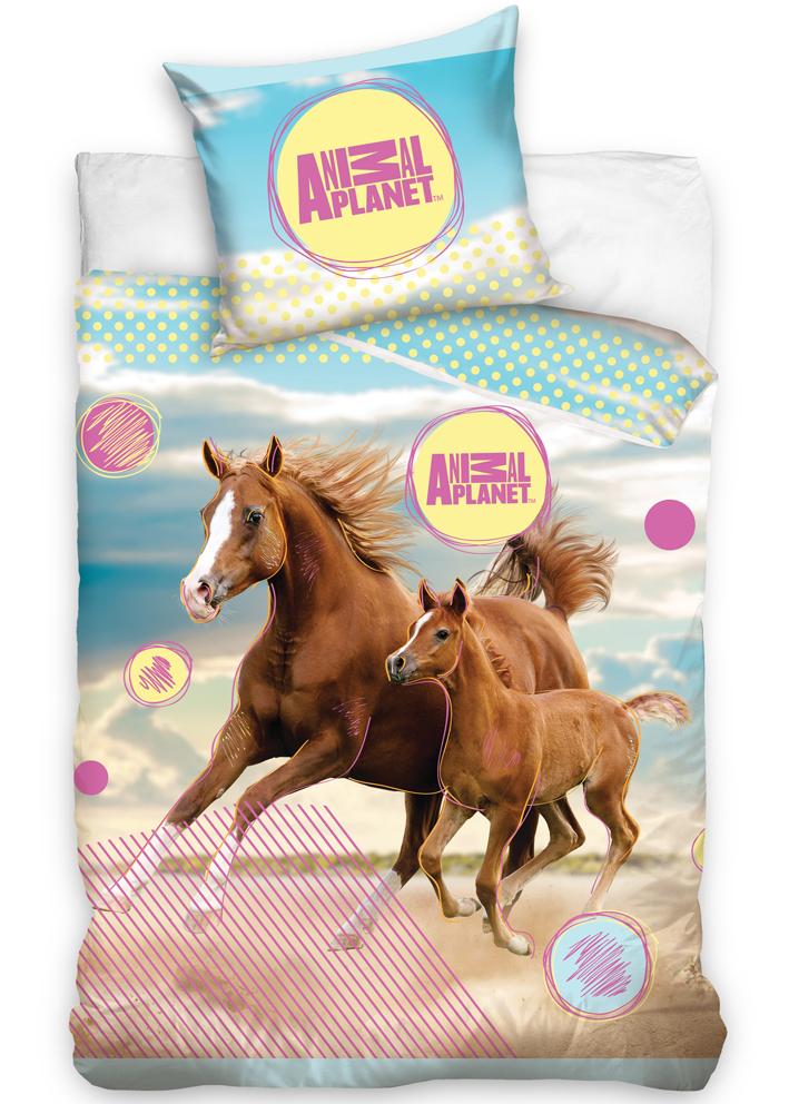 Carbotex Povlečení Animal Planet - Koně