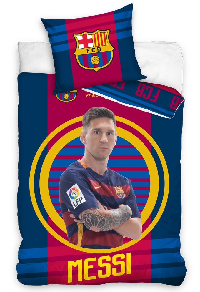 Carbotex Fotbalové povlečení FC Barcelona Messi 2016