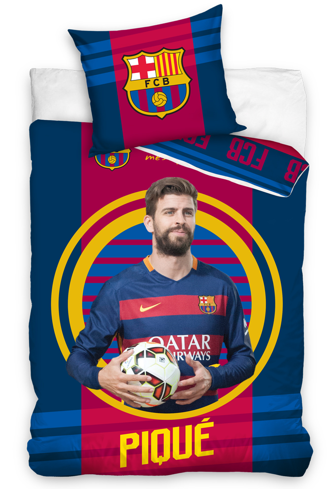 Carbotex Fotbalové povlečení FC Barcelona Pique 2016