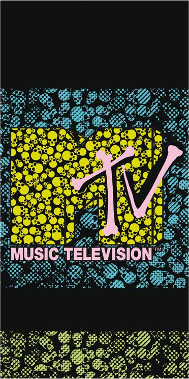 Carbotex Plážová osuška MTV Rozměr: 70x140 cm