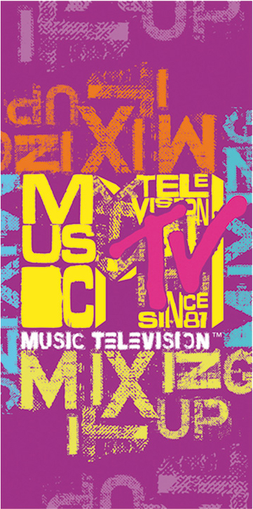 Carbotex Osuška MTV - růžová