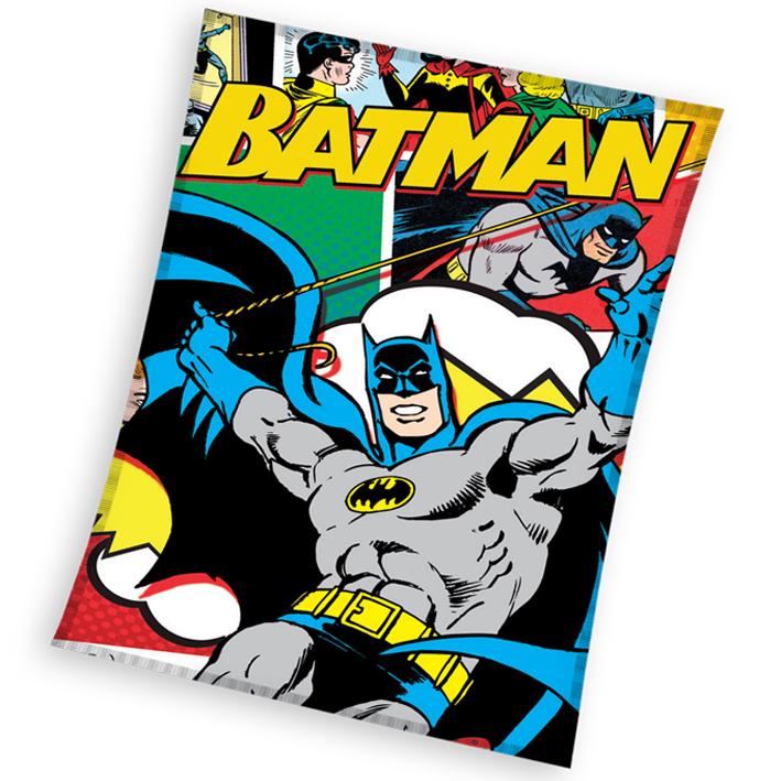 Carbotex Dětská deka Batman Komiks