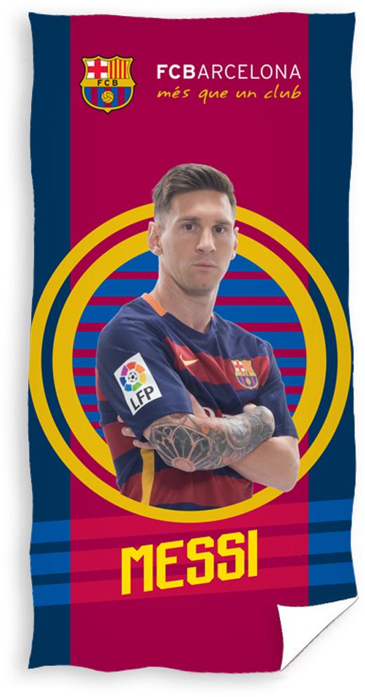 Carbotex Fotbalová osuška FC Barcelona Messi 2016